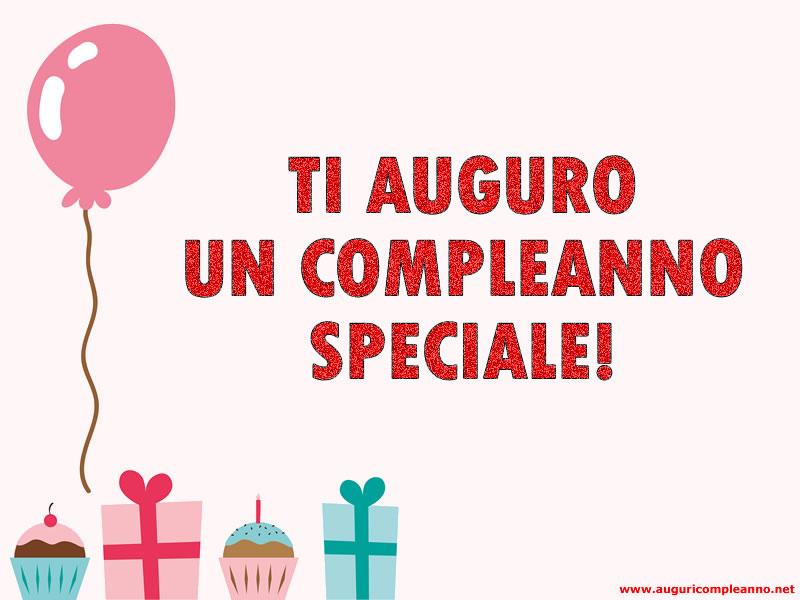 Auguri compleanno speciale